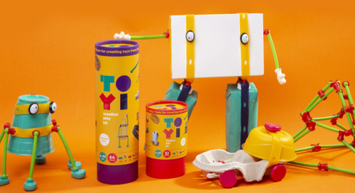 Toyi: An Imaginative Play Kit for Kids to Transform the World Around Them Using Everyday Objects