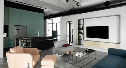 Ax3: A Modern Loft Apartment in Tel Aviv by Studio ETN