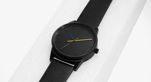 Poketo for BREDA: Two Brands Collaborate on a Timeless Watch Called Spectra