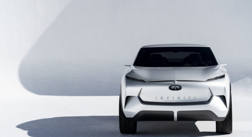The Infiniti QX Inspiration Concept Embodies Electrifying Minimalism