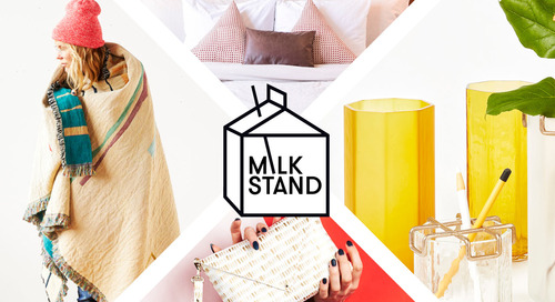 Open Call: Apply to Exhibit at Our Next Milk Stand Pop-Up Shop at ICFF 2019!