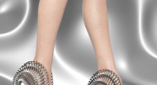 Ica & Kostika Launch 3D Printed Footwear Collection Called Exobiology