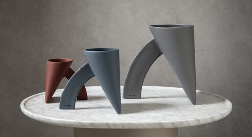 CEDIT Celebrates 50th Anniversary of Achille and Pier Giacomo Castiglioni's LAPIS Vase