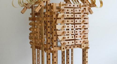 Shigeki Yamamoto Creates the Temple-Like Play Cupboard