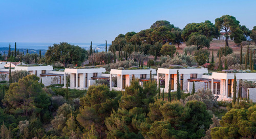 The Amanzoe Is What's Fresh About Greece