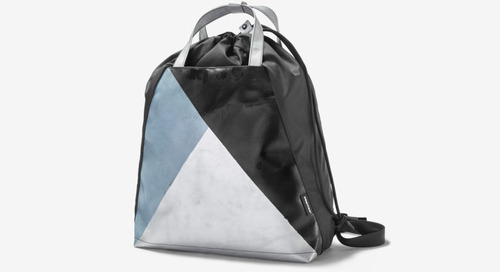 FREITAG Launches a Drawstring Bag Made From Recycled Materials