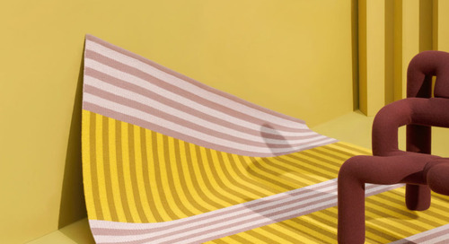 Sight Unseen x Kasthall Collaboration Weaves Colors and Lines for Stockholm Design Week