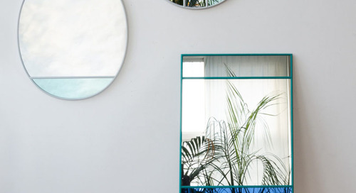 Stained Glass-Inspired Mirrors by Inga Sempé for Magis