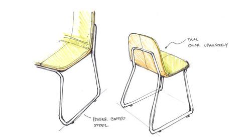 How Bogaerts Label Developed Jacob Nitz's Siren Chair