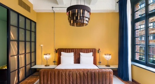 In Tbilisi, Stamba Hotel Takes a Page from a Former Soviet Printing Press