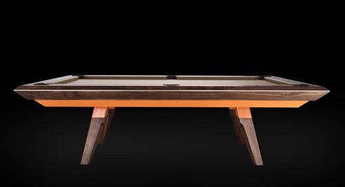 A Modern Pool Table Named Alison