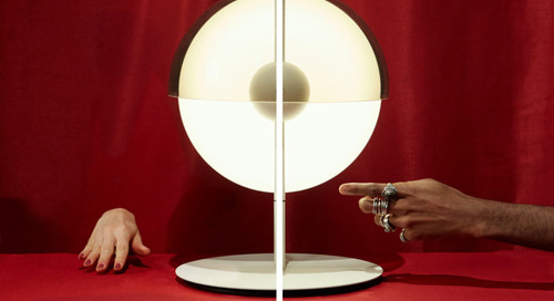 Marset Invites Emerging Artists to Shoot Campaign for the Theia Table Lamp