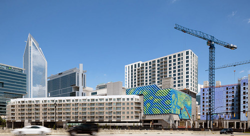 Wanderwall Brightens Up Charlotte's Skyline