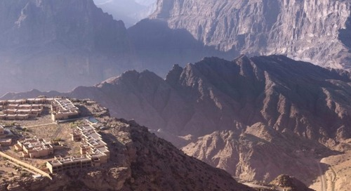 Anantara Jabal Akhdar Is the Pinnacle of Modern Luxury in Oman