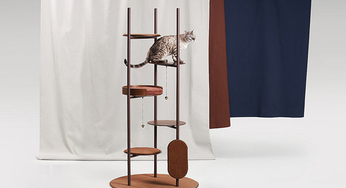 Three Poles Collection Is Design You and Your Cat Will Both Love