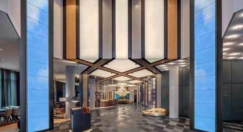 Germany's First Andaz Hotel Replicates Diamonds in the Bavarian Flag