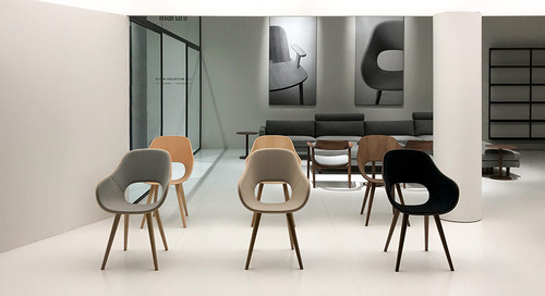 The Roundish Chair Blurs the Line Between Home and Work