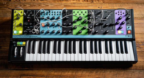 The Moog Matriarch Joins the Family at Moogfest 2019