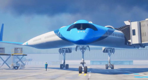 Sustainability Sets to Take off with KLM Royal Dutch Airline's Flying-V Concept