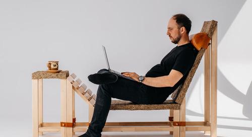 Malgorzata Blachuta's Klapniok Alternative Natural Seat