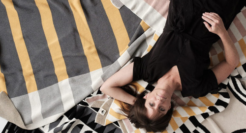 Geometric Environmentally Friendly Throws by happy habitat