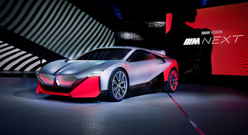 3D Print Your Very Own BMW Vision M NEXT Sports Car