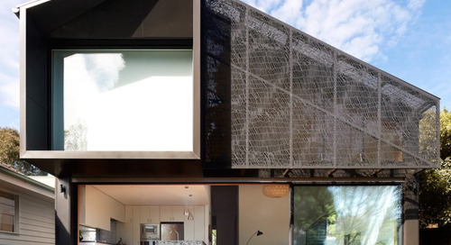 The Elphin House Gets a New Addition With a Textile-Inspired Facade