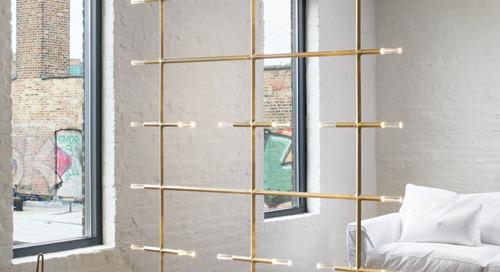 Lake + Wells Turns Their Modular Jax Lighting System into a Screen