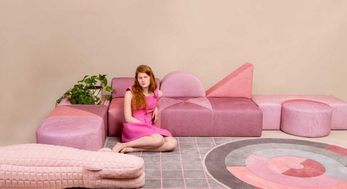 The Modular Pink Collection Celebrates the Bauhaus