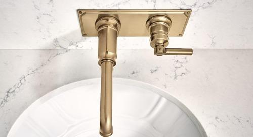 Brizo's Invari Bath Collection Integrates Edwardian Elegance with Machine Age Sensibility