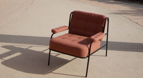 Enjoy the Outdoor Campbell Lounge Chair Year Round