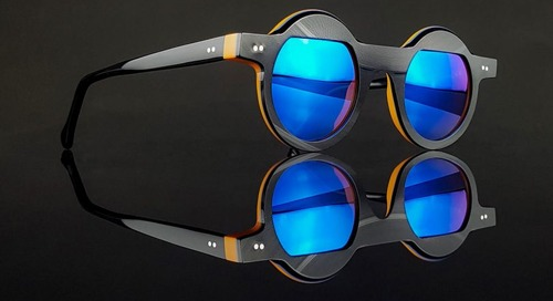 Vinylize Celebrates the Bauhaus with Eyewear Made From Vinyl