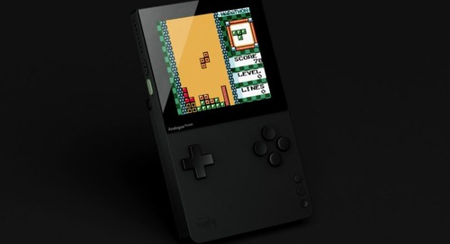 A Pocket Sized Gaming System + Synth Workstation in One