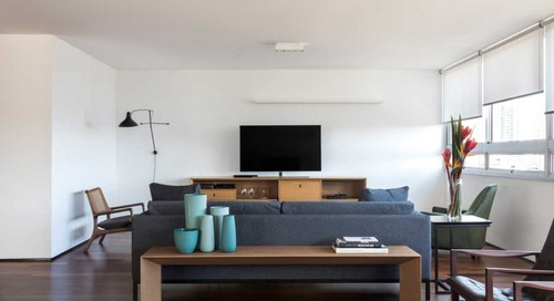 A Curitiba Apartment That Focuses on Form and Function
