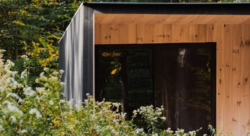 The Edifice: A Modest Cedar Cabin by Marc Thorpe Design