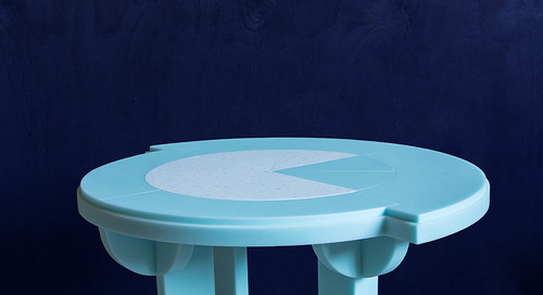Abstraction Furniture as Interactive Art by Roxanne Flick