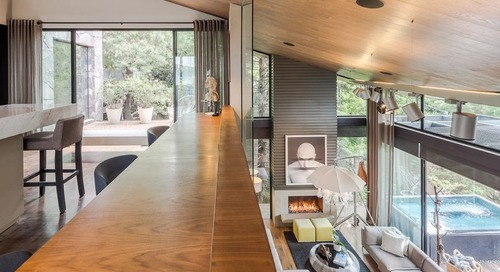 The Los Helechos House Is a Modern Oasis in Mexico City