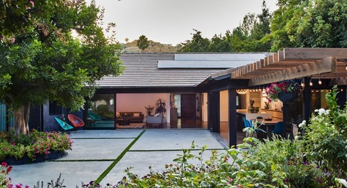 Bell Canyon Residence: A Ranch in California Where the Garden Is King