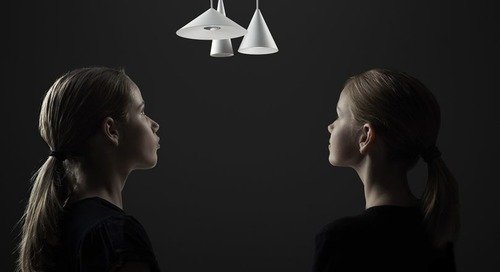 Wästberg Shrinks a Pendant Light Down, Down, Down