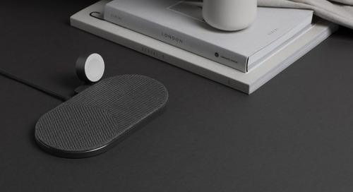 Three's Never a Crowd Using the Native Union Drop XL Wireless Charger Watch Edition