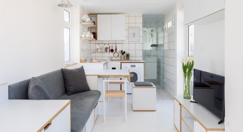 The Shoebox: A 16m2 Micro Apartment in Beirut