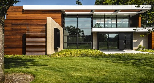 Old Westbury Residence Is an Exercise in Minimalist Forms