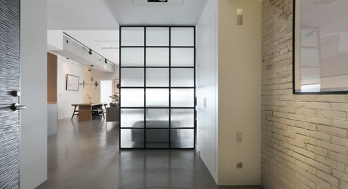 Minimalist Apartment in Taichung by THEY Department