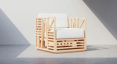 The Calamus Duo Merges Graphic Design + Furniture Design
