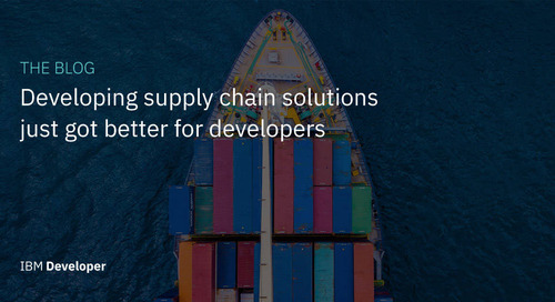 Developing supply-chain solutions just got better for developers