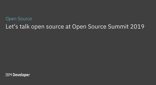Let's talk open source at Open Source Summit 2019