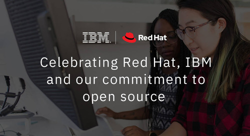 Celebrating Red Hat, IBM, and our commitment to open source