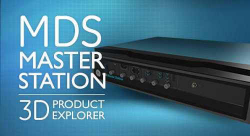 Interactive 3D Product Explorer - MDS Master Station