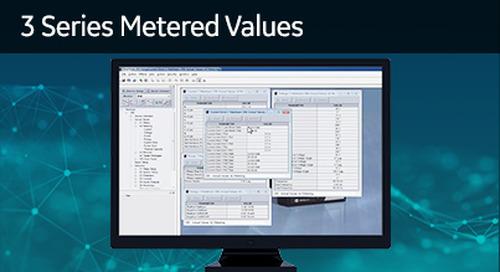 3SP-1005 - 3 Series metered values