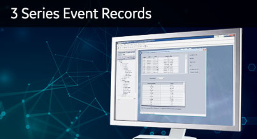 3SP-1006 - 3 Series event records